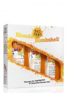 Christmas blonde haircare www.inspirationhair.co.uk