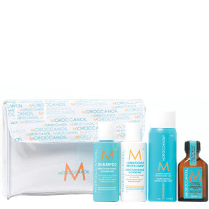 Moroccanoil sample set www.inspirationhair.co.uk