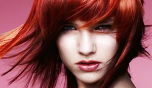 copper red hair colours, inspiration hairdressers & beauty salon, Worcester