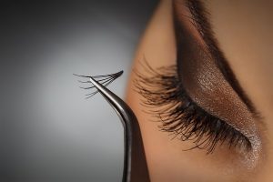 eyelash extensions at Inspiration beauty salon in Worcester