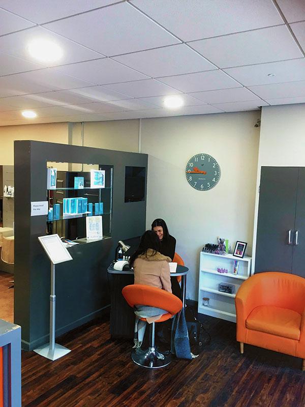 Inspiration hairdressing salon worcester for Address beauty salon